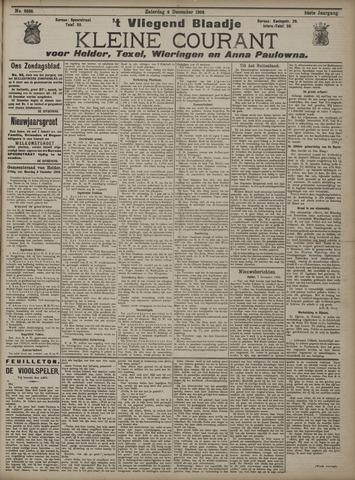 Vliegend blaadje : nieuws- en advertentiebode voor Den Helder 1906-12-08