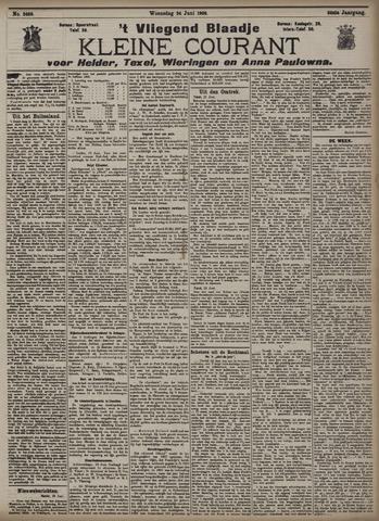 Vliegend blaadje : nieuws- en advertentiebode voor Den Helder 1908-06-24
