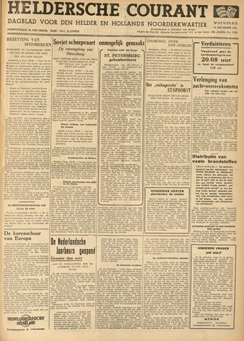Heldersche Courant 1941-09-10