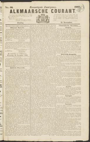 Alkmaarsche Courant 1868-11-15