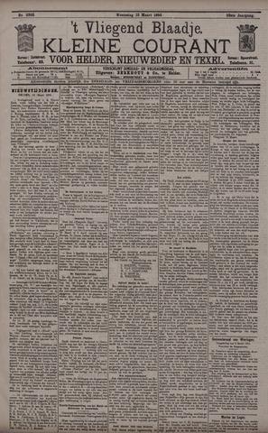 Vliegend blaadje : nieuws- en advertentiebode voor Den Helder 1895-03-13