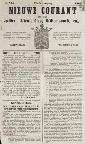 Nieuwe Courant van Den Helder 1864-12-28