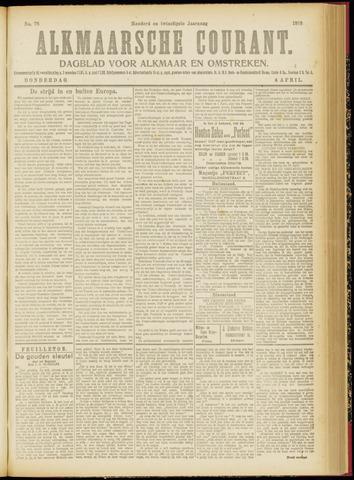 Alkmaarsche Courant 1918-04-04