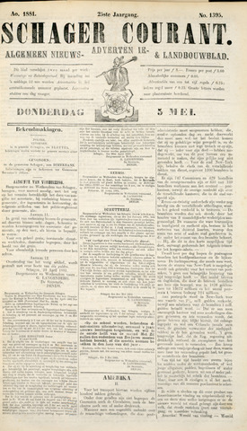 Schager Courant 1881-05-05