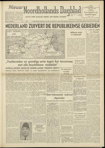 Nieuw Noordhollandsch Dagblad : voor Alkmaar en omgeving 1948-12-20