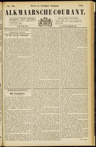 Alkmaarsche Courant 1885-11-15