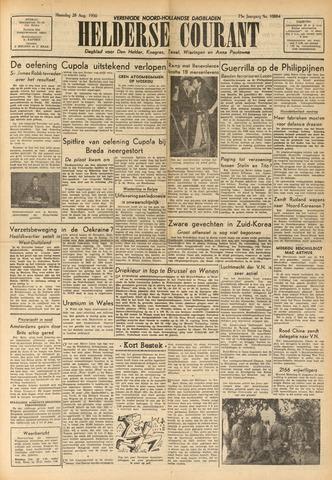 Heldersche Courant 1950-08-28