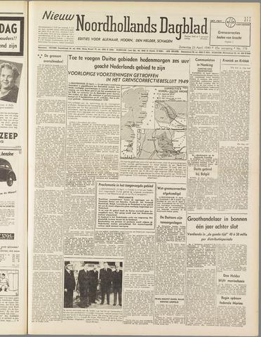 Nieuw Noordhollandsch Dagblad : voor Alkmaar en omgeving 1949-04-23