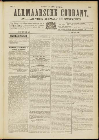 Alkmaarsche Courant 1909-01-06