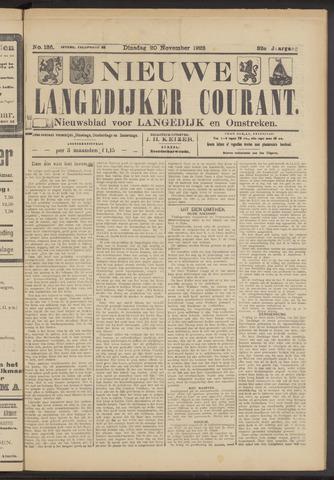 Nieuwe Langedijker Courant 1923-11-20