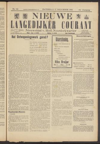 Nieuwe Langedijker Courant 1932-12-17