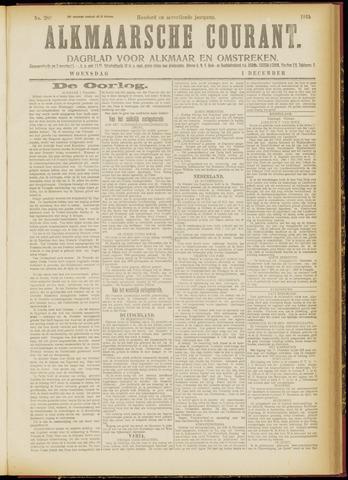 Alkmaarsche Courant 1915-12-01