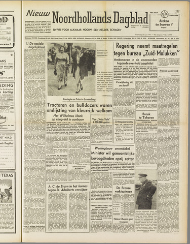 Nieuw Noordhollandsch Dagblad : voor Alkmaar en omgeving 1951-06-20