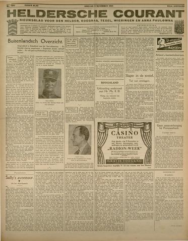 Heldersche Courant 1934-11-06