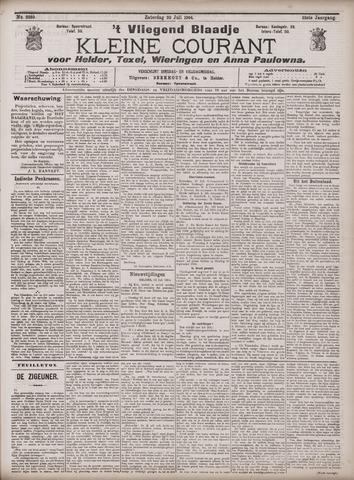 Vliegend blaadje : nieuws- en advertentiebode voor Den Helder 1904-07-23