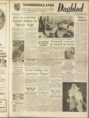 Noordhollands Dagblad : dagblad voor Alkmaar en omgeving 1962-09-28