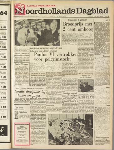 Noordhollands Dagblad : dagblad voor Alkmaar en omgeving 1964-01-04