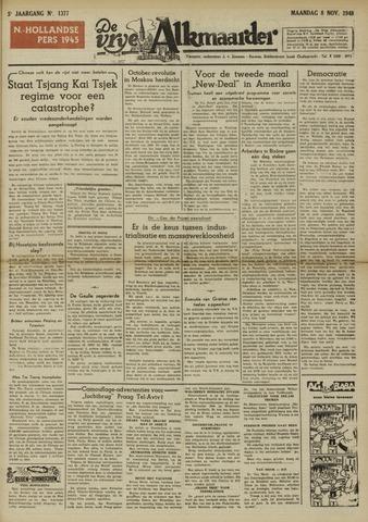 De Vrije Alkmaarder 1948-11-08