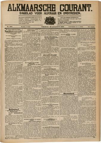 Alkmaarsche Courant 1930-08-29