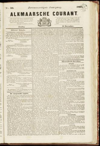 Alkmaarsche Courant 1865-12-10