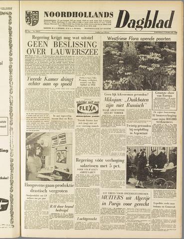 Noordhollands Dagblad : dagblad voor Alkmaar en omgeving 1960-02-17