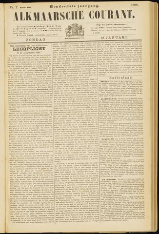 Alkmaarsche Courant 1898-01-16