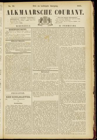 Alkmaarsche Courant 1881-02-23