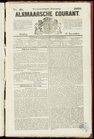 Alkmaarsche Courant 1860-11-25