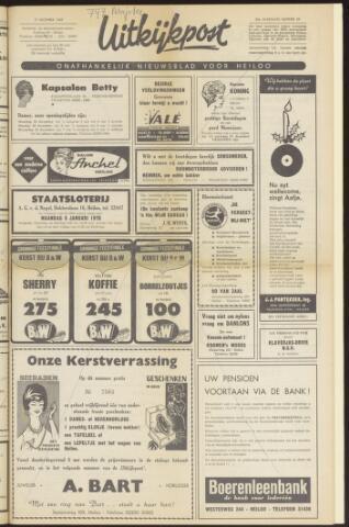 Uitkijkpost : nieuwsblad voor Heiloo e.o. 1969-12-17