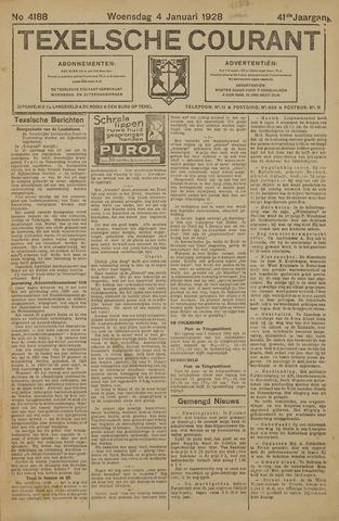 Texelsche Courant 1928