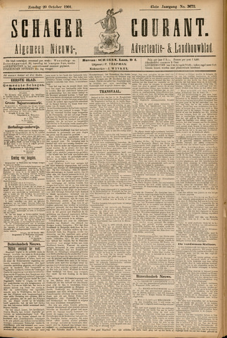 Schager Courant 1901-10-20
