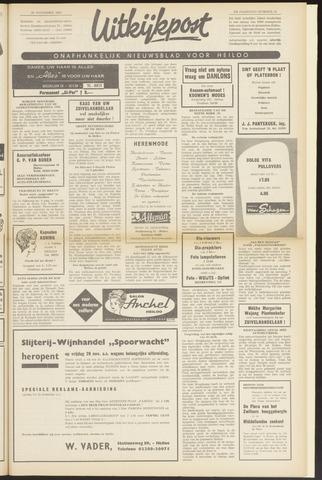 Uitkijkpost : nieuwsblad voor Heiloo e.o. 1963-11-28