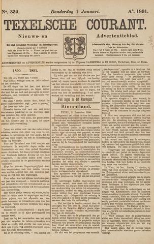 Texelsche Courant 1891