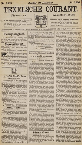 Texelsche Courant 1900-12-30