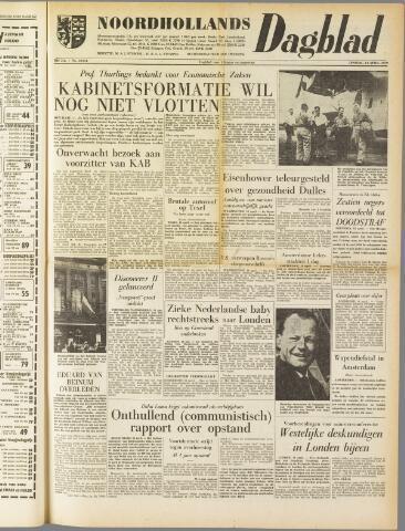 Noordhollands Dagblad : dagblad voor Alkmaar en omgeving 1959-04-14