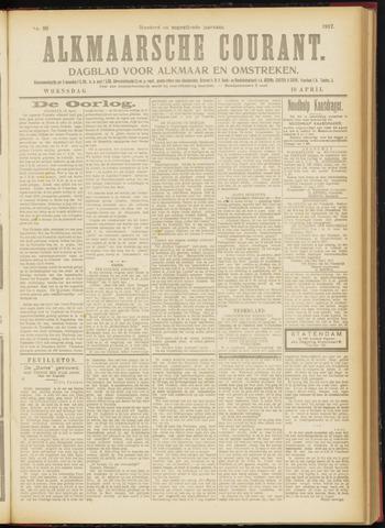 Alkmaarsche Courant 1917-04-18