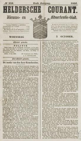 Heldersche Courant 1866-10-03