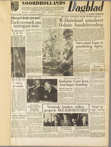 Noordhollands Dagblad : dagblad voor Alkmaar en omgeving 1960-10-01