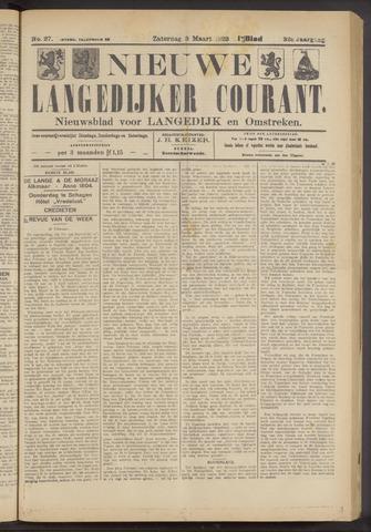 Nieuwe Langedijker Courant 1923-03-03