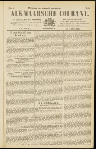 Alkmaarsche Courant 1905-01-13