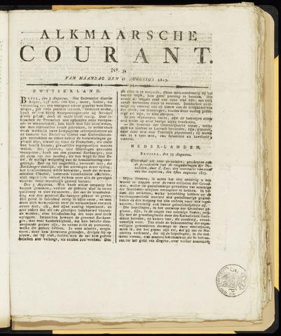 Alkmaarsche Courant 1815-08-21