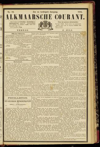 Alkmaarsche Courant 1884-07-11