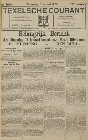 Texelsche Courant 1926