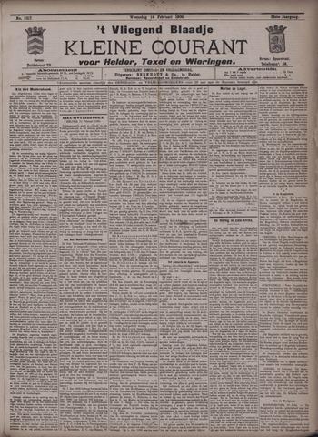 Vliegend blaadje : nieuws- en advertentiebode voor Den Helder 1900-02-14