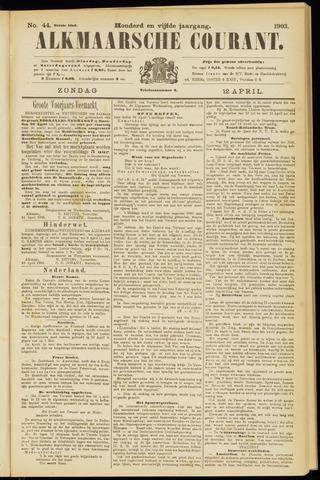 Alkmaarsche Courant 1903-04-12