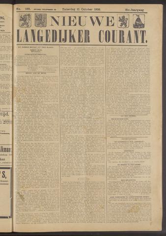Nieuwe Langedijker Courant 1922-10-21