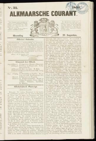 Alkmaarsche Courant 1854-08-28
