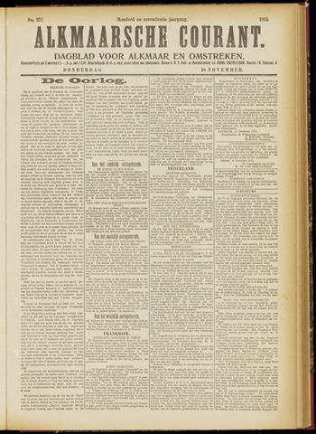 Alkmaarsche Courant 1915-11-18