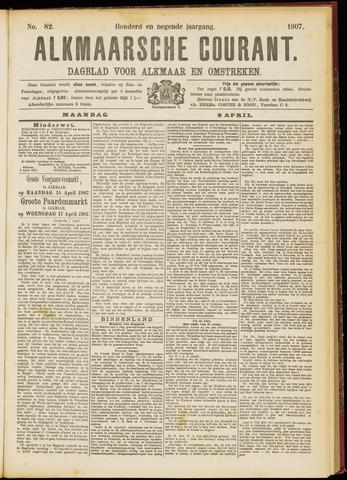 Alkmaarsche Courant 1907-04-08
