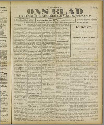 Ons Blad : katholiek nieuwsblad voor N-H 1921-02-21